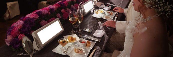 女優ライト 結婚式 高砂 メインテーブル