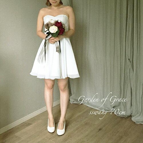 ウェディングドレス 2次会 安い 3万円以内 ミニ