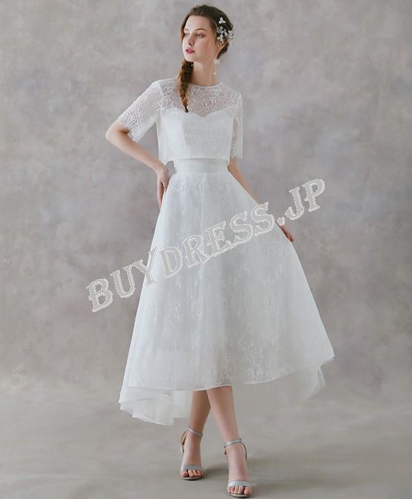 ウェディングドレス 2次会 安い 3万円以内 セパレート