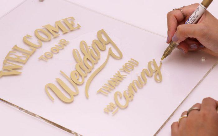 MIROOM 花嫁DIY ウェルカムボード